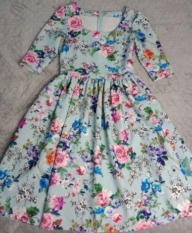 Сукня міді 46 розмір