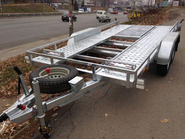Прицеп лафет для перевозки автомобилей Сантей 3000-51