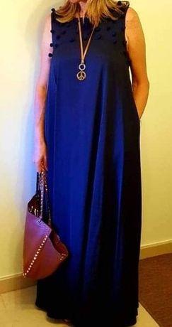 Vestido comprido de senhora - MISCI