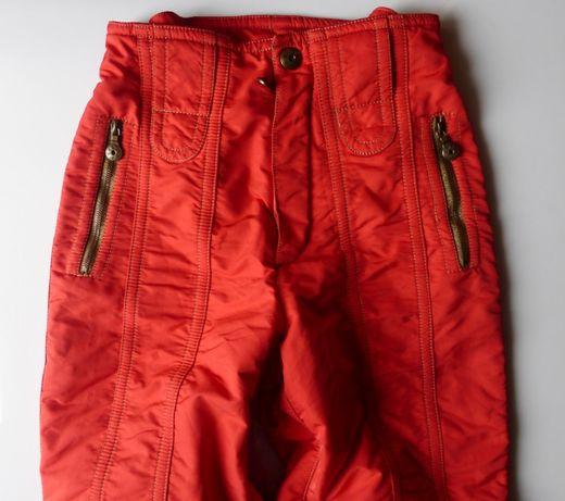 Spodnie narciarskie na narty EMMEGI damskie profesjonalne S 36 czerwon