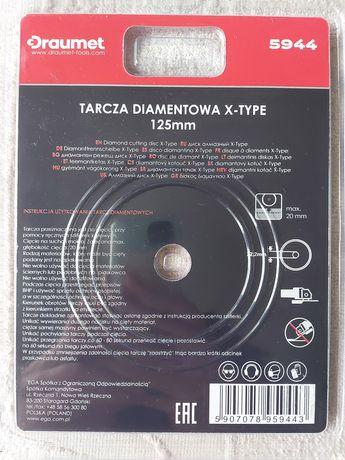 DRAUMET Tarcza diamentowa X-Type 125 x 2,5 Gdansk
