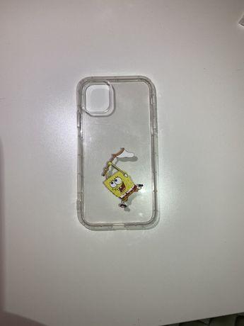 Прозрачный чехол на Iphone 11 с принтом