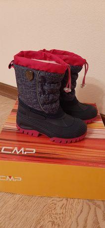 CMP снегоходы зимние ботинки сапоги 27 geox Ecco