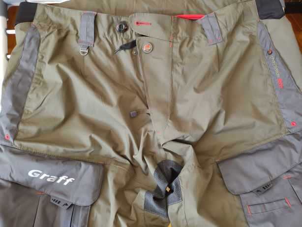 Spodnie wędkarskie GRAFF 730-B jak nowe