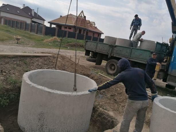 Монтаж,Чистка выгребных ям,Чистка канализации