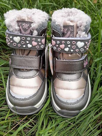 Термоботинки зимние ботинки для девочки