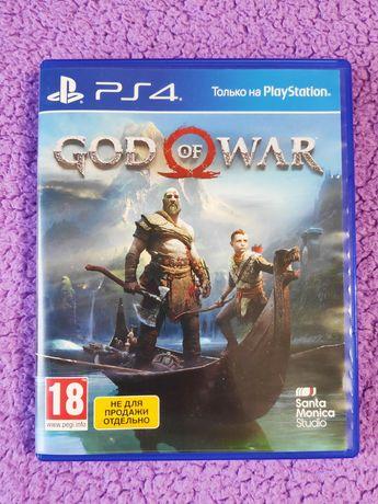 God Of War игра для PlayStation 4   Бог Войны для PS 4