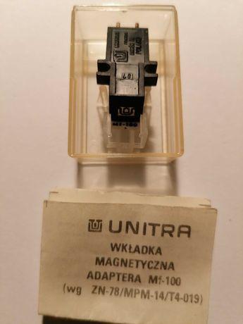 Wkładka magnetyczna adaptera MF 100 z igłą - Unitra Fonica - vintage