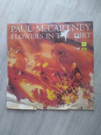 Paul McCartney. Flowers in tne dirt. Winyl