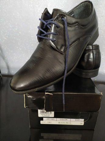 Eleganckie chłopięce buty 36 nowe