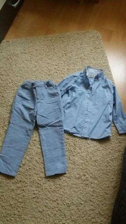 Spodnie i koszula h&m
