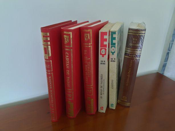 Livros de Eça de Queiróz