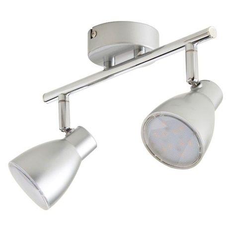 Lampa Spot Colours Bomos 2 x LED srebrny 255lm x 2 Polecam