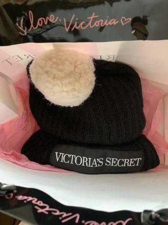 Gorro Preto Victoria's Secret