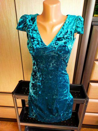 Красивое бархатное платье MING на девочку 8-12 лет