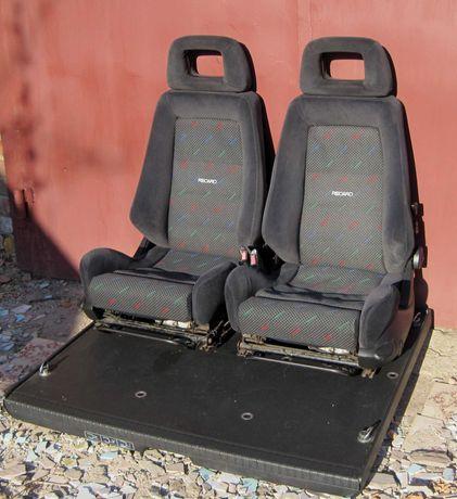 Легендарные сидения RECARO с двумя уровнями поясничной регулировки