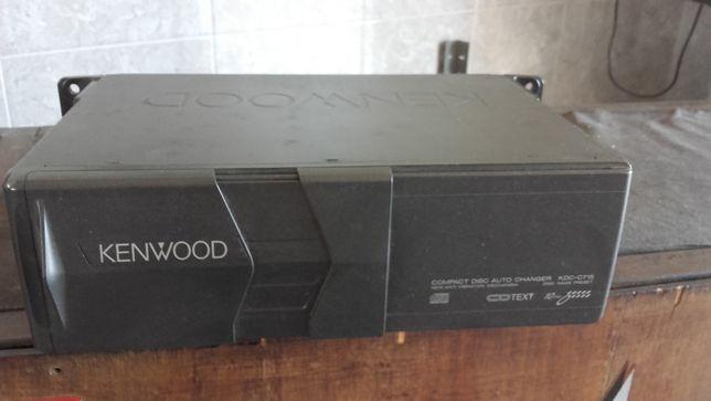 Caixa de 10 cd marca kenwood KDC