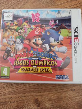 Jogo 3ds Mario e Sonic nos jogos olímpicos Londres 2012
