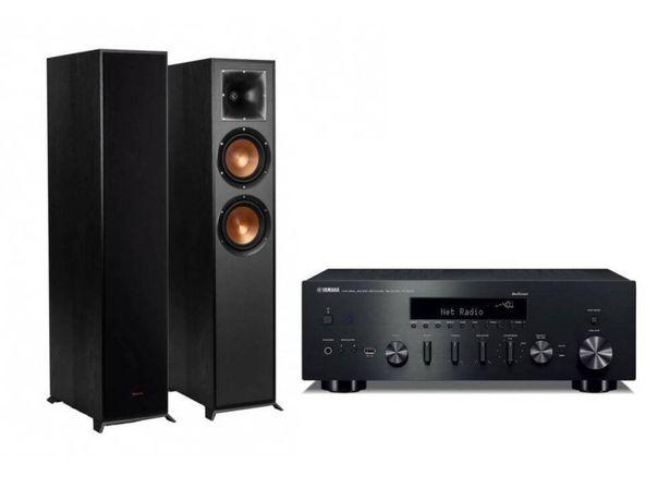 Yamaha R-N602 + Klipsch R-620F - zestaw stereo - amplituner - Kolumny