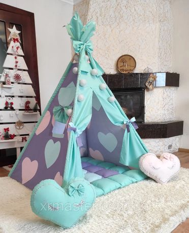 Дитяча палатка домік вігвам Sweet Dreams Повний комплект !