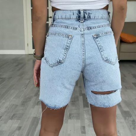 Джинсовые шорты, 34 размер