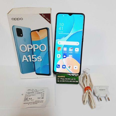 Telefon oppo A15S z gwarancją
