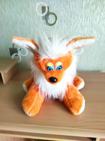 Мяка іграшка лисиця