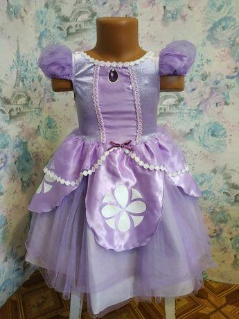 Платье София Прекрасная принцесса, карнавальный костюм,Disney на 2-3