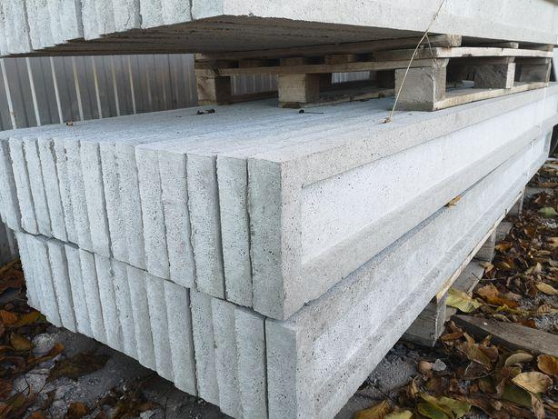 Podmurówka deski betonowe Panel ogrodzeniowy Słupek Obejmy Montaż