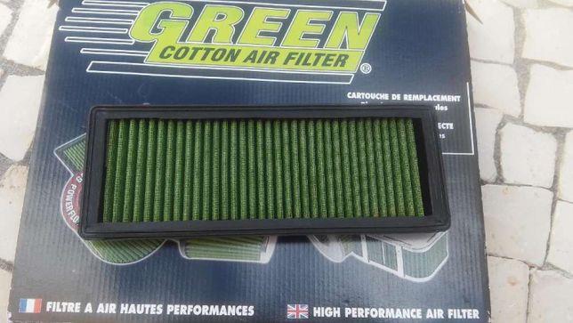 Filtro Green para Dacia Duster 1.5 dci e Clio Fase 2, 1.9 D