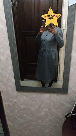 Платье новое в клетку
