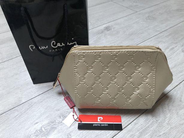Kosmetyczka Pierre Cardin złota