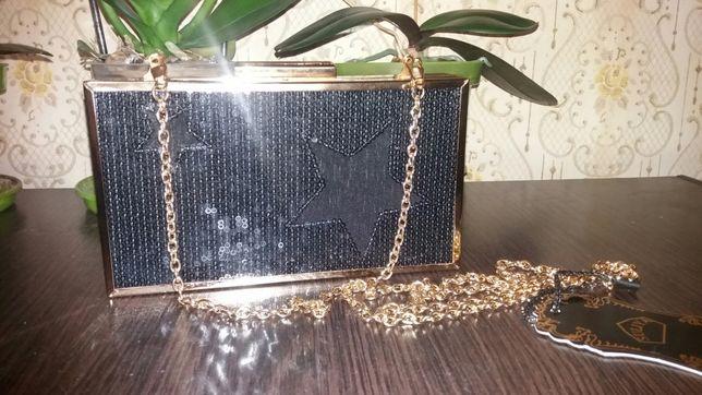 Маленькая элегантная сумочка Клатч клач