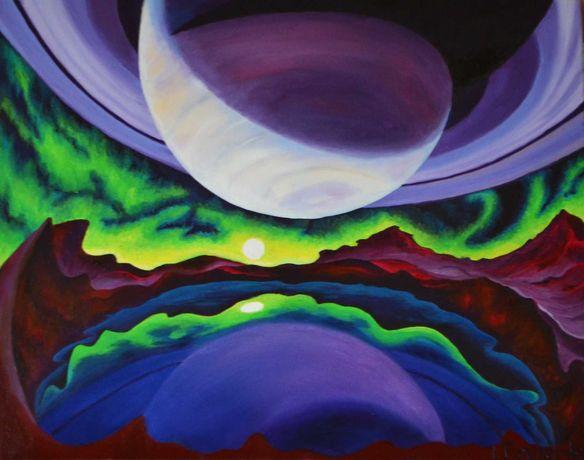 """Картина """"Титан"""" Полотно, олія, 40х50 см."""