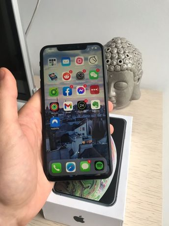 Iphone xs max 64gb neverlock space gray x