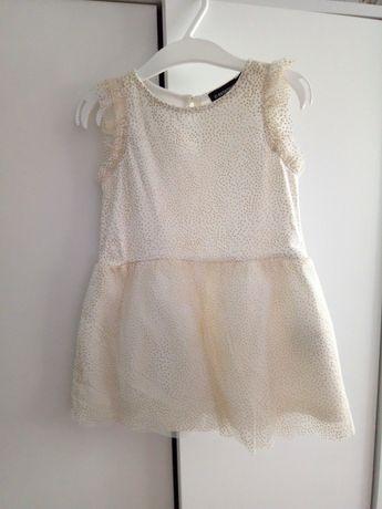 Sukienka dziewczęca r. 80