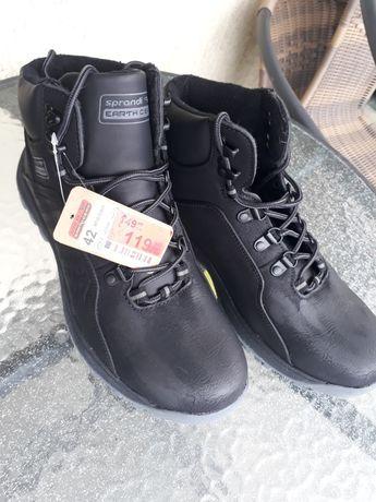 Buty zimowe Sprandi CCC 42 nowe bardzo ciepłe