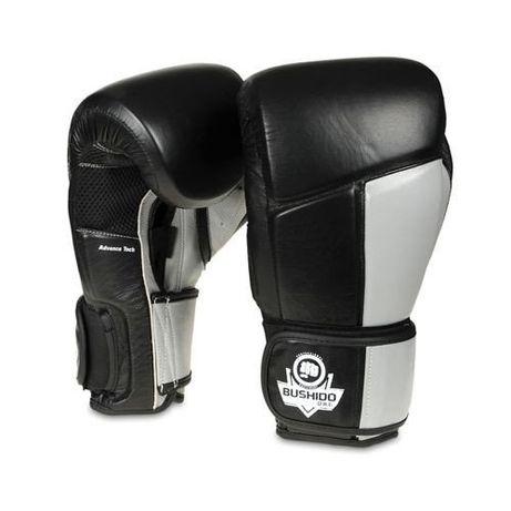 Treningowe skórzane rękawice boks, Muay Thai 10 oz