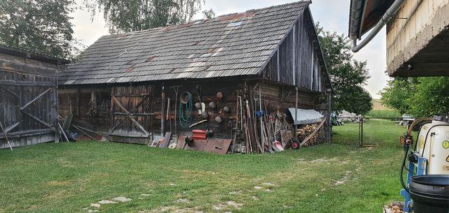 Brusy deski ze stodoly