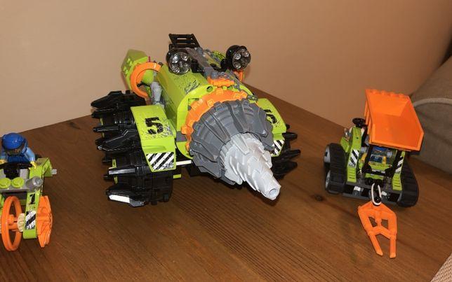 LEGO Power Miners 8960 Wiertło górnicze + kruszarka kamieni i granitu