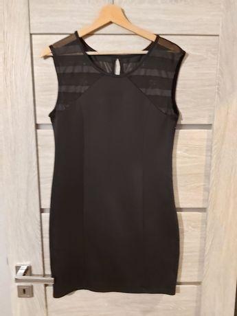 Czarna sukienka rozmiar L Piękna!