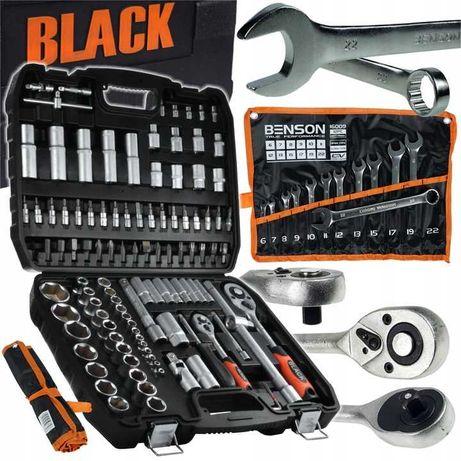 Набір ключів 2в1 Набор Black -108 ед. + Рожково-накидні 12 ел