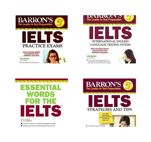 Друк книг Barron's IELTS Superpack (3d edition and 2nd edition)