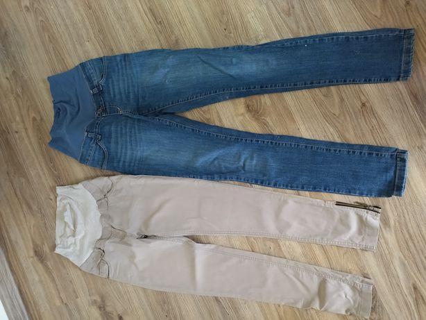 Spodnie ciążowe 36, rozmiar S