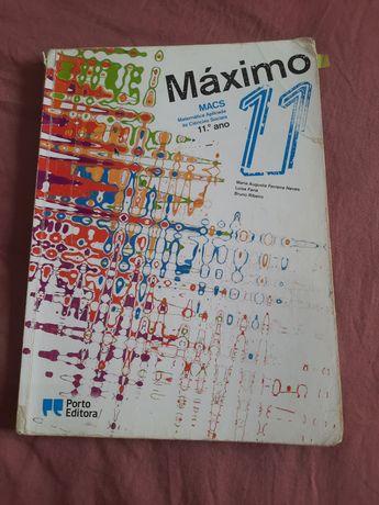 Livro de Macs (Matemática Aplicada às Ciências Sociais) 11°