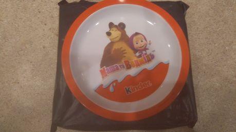 Тарелка Киндер Маша и медведь