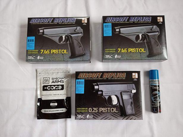 Pistolas Green Gas, s/blowback airsoft NOVO