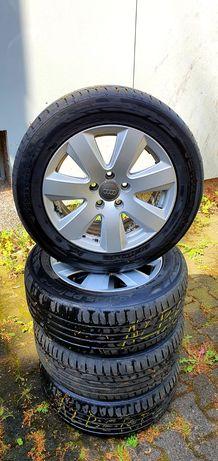 Felgi Orginalne Audi R16 5x112 Przywiezione z Niemiec opony stan Bdb
