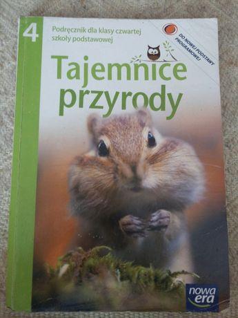 Tajemnice przyrody, podręcznik dla klasy czwartej szkoły podstawowej