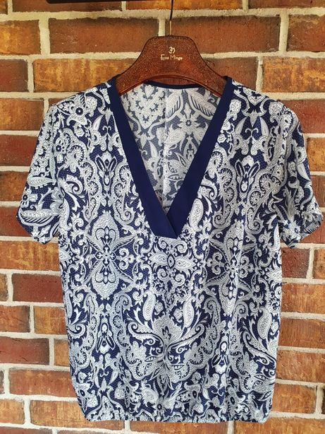 Bluzka we wzór paisley Quiosque